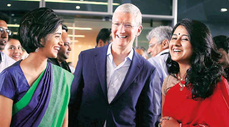 Asked about Trump, Tim Cook says diversity our basic value The