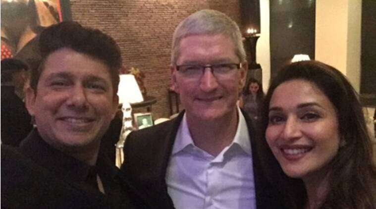 Madhuri Dixit Nene loved meeting Apple CEO Tim Cook The Indian Express - tim cook resume