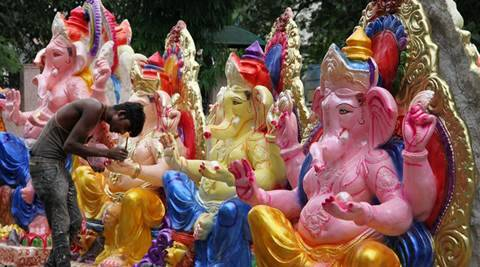 Durga Puja 3d Wallpaper Goa All Set To Welcome Lord Ganesha On Monday The Indian