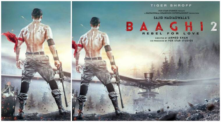 Tiger Shroff Hd Wallpaper Baaghi 2 Poster Tiger Shroff Reminds You Of Hollywood