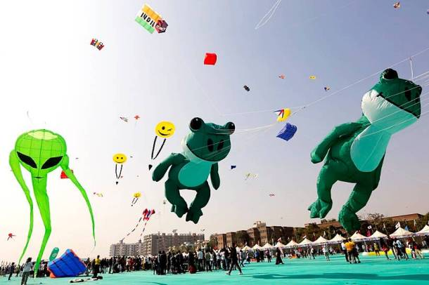 International Kite Festival 2018 Cool Colourful Kites