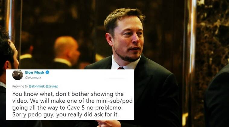 Elon Musk calls man who helped in Thai cave rescue a 'pedo'; garners flak on the Internet ...