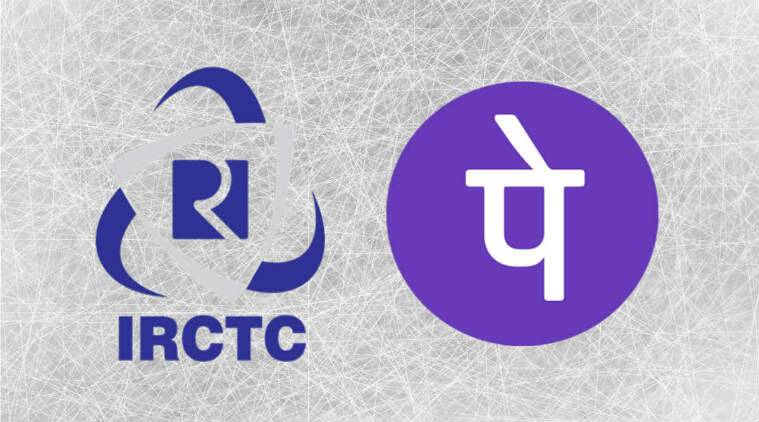 IRCTC app ticket booking How to make payments using PhonePe over - booking app