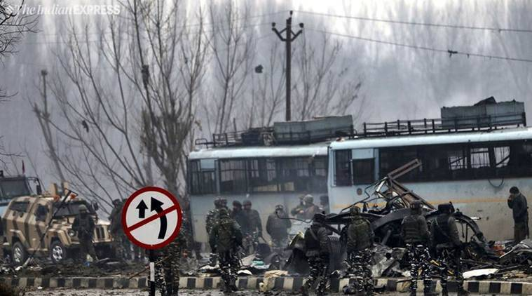 Forty CRPF jawans were killed in the Pulwama attack in February.