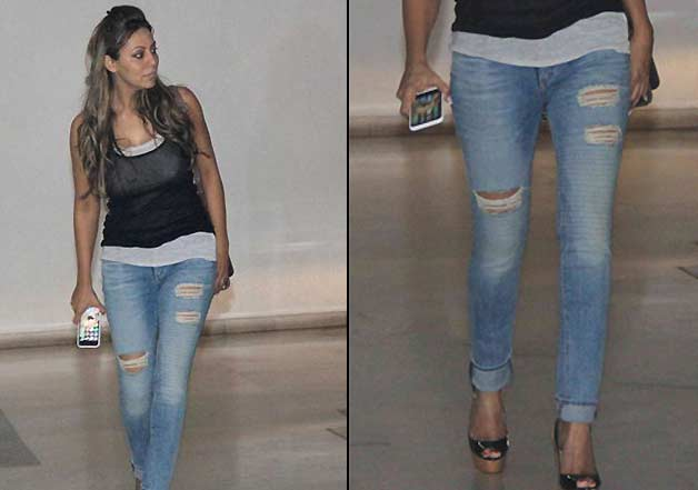 Image result for gauri khan ripped jeans