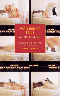 Varieties of Exile cover by Mavis Gallant