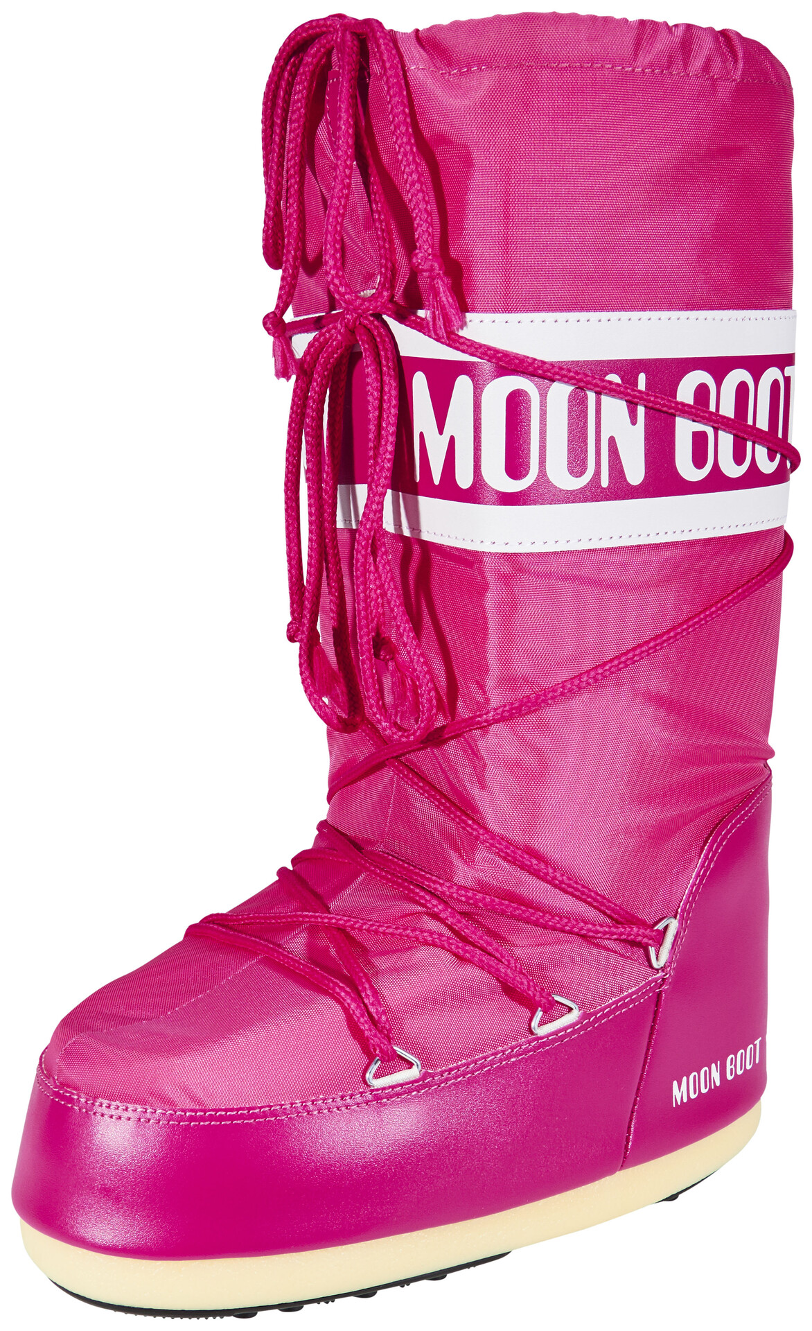 Moon Boot Nylon Boots Pink At Addnaturecouk