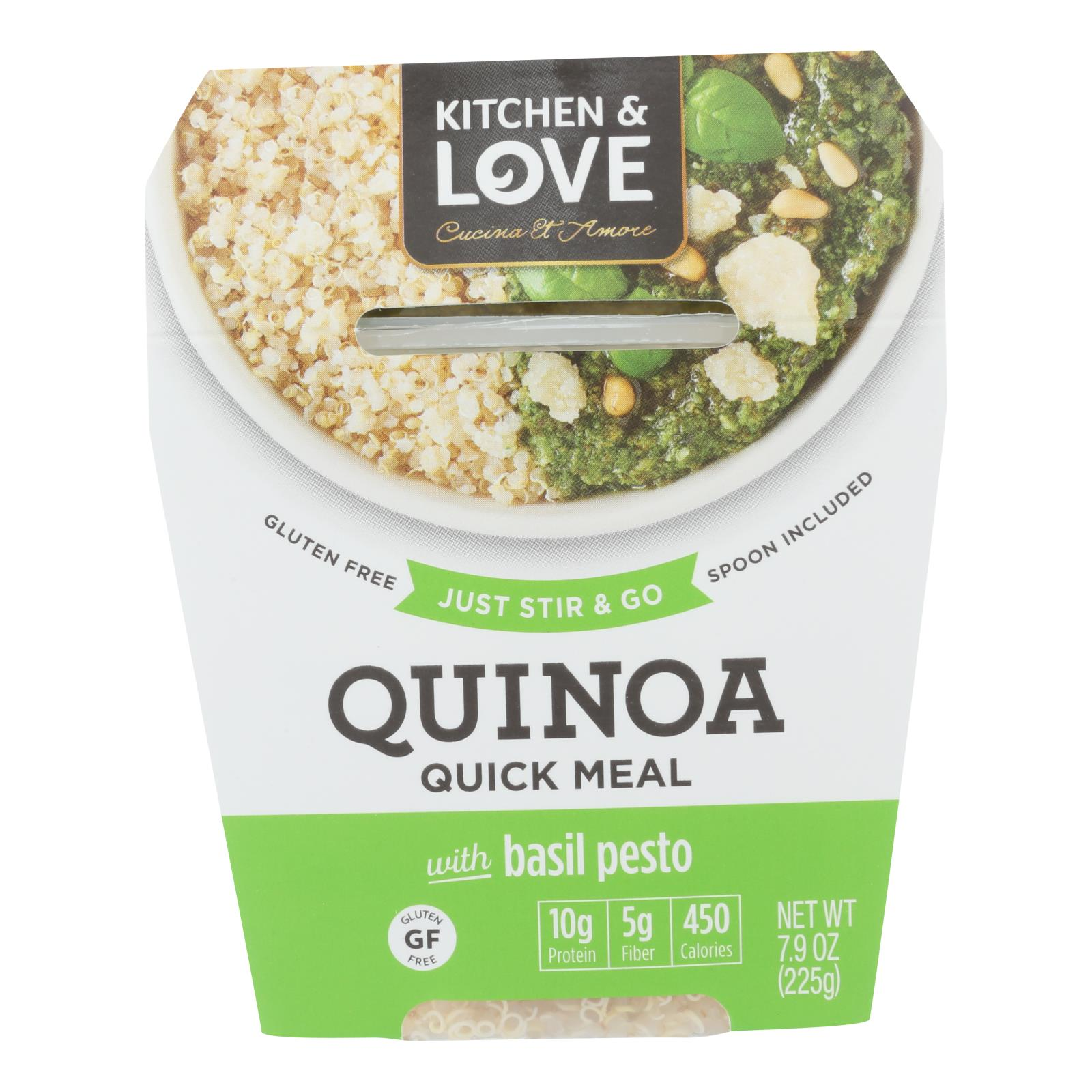 Cucina And Amore Pesto Details About Cucina And Amore Quinoa Meals Basil Pesto Case Of 6 7 9 Oz