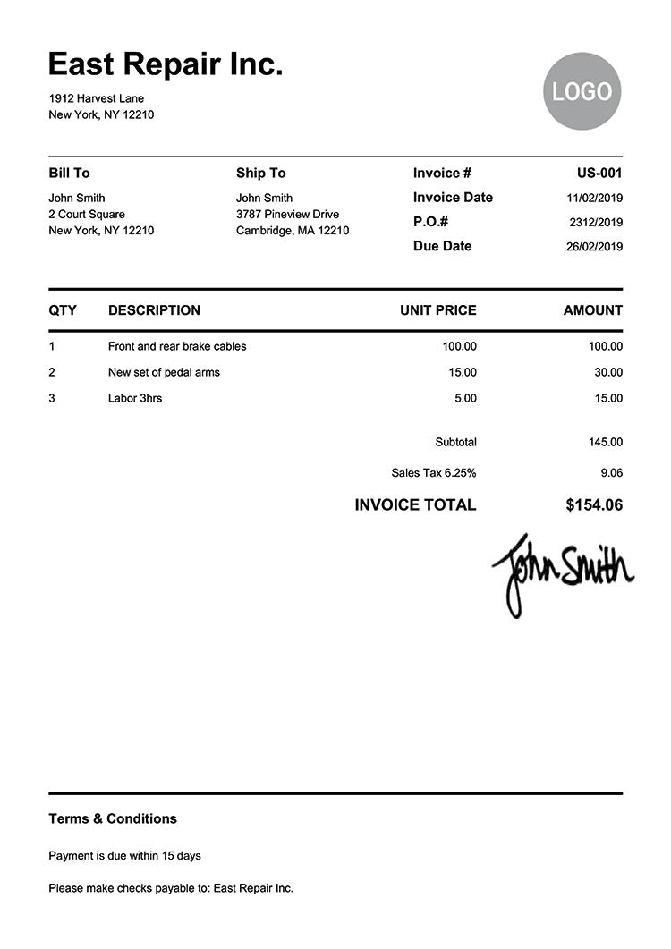 draft bill of sale