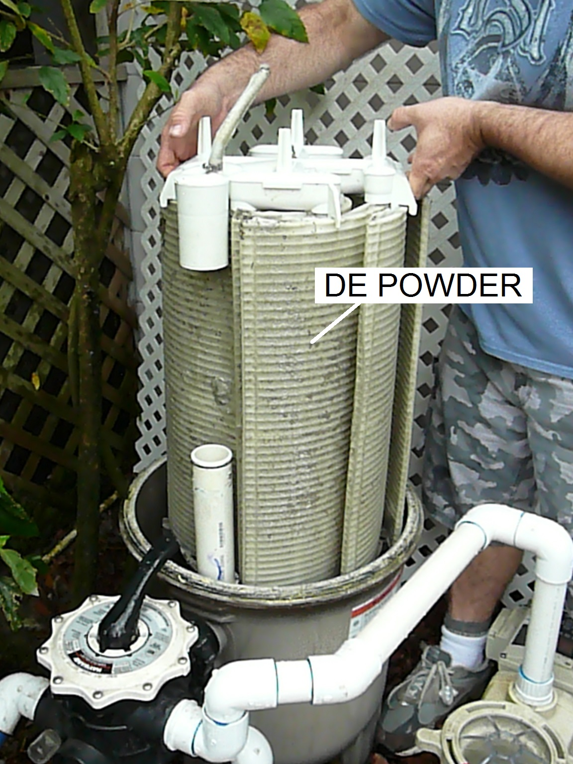 Jacuzzi Pool De How To Prevent De Filter Powder Returning To Pool Inyopools