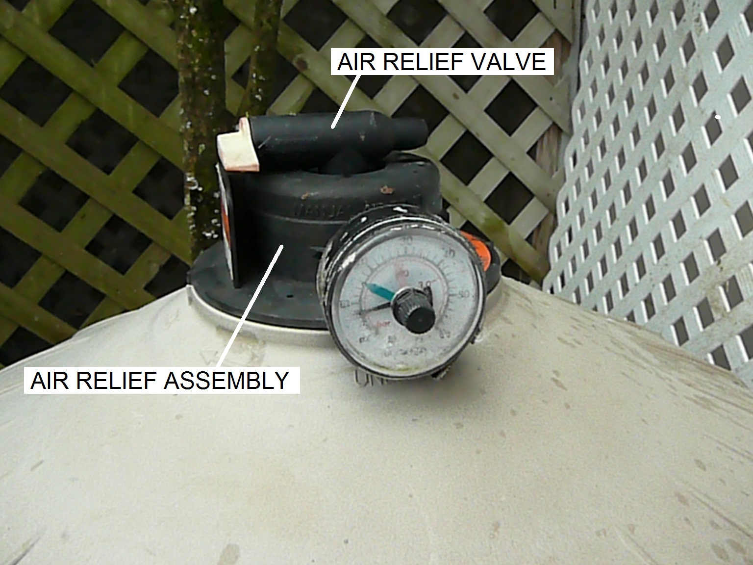 Pool Filter Pump Pressure How To Replace A Hayward De Filter Air Relief Valve Inyopools