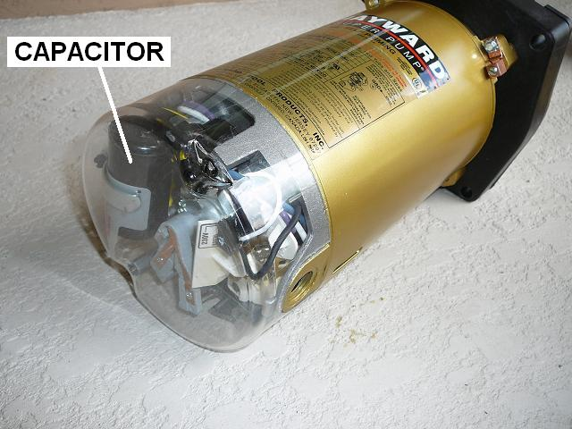 hayward super pump start capacitor wiring diagram