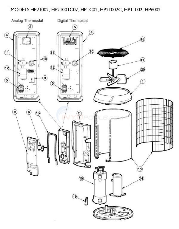diagram parts of a phone