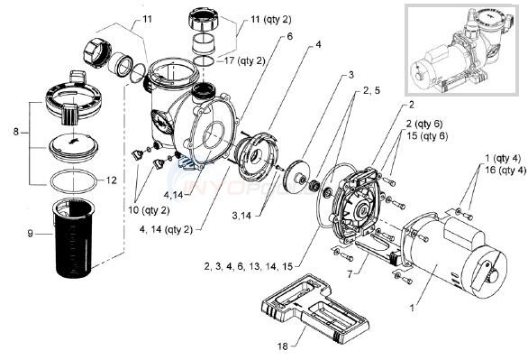 jandy flopro pump wiring diagram