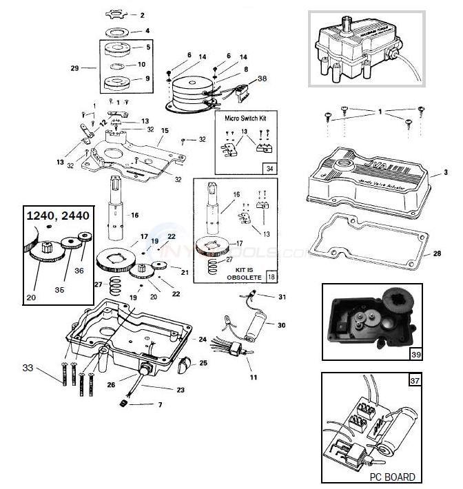 jandy actuator wiring diagram