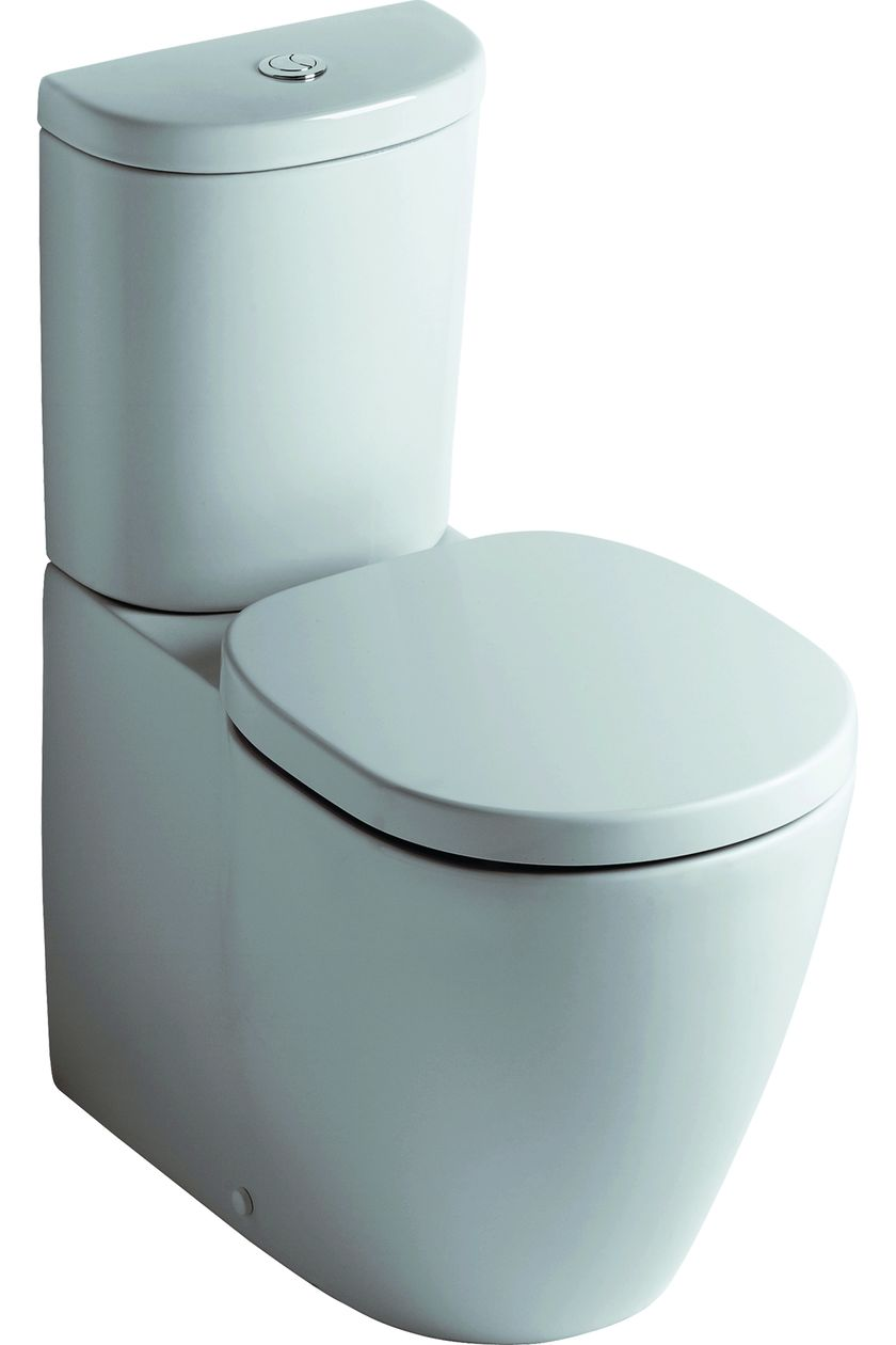 Connect Wc Ideal Standard Back To Wall Toilet Connect Close Coupled Wc Bowl E823401