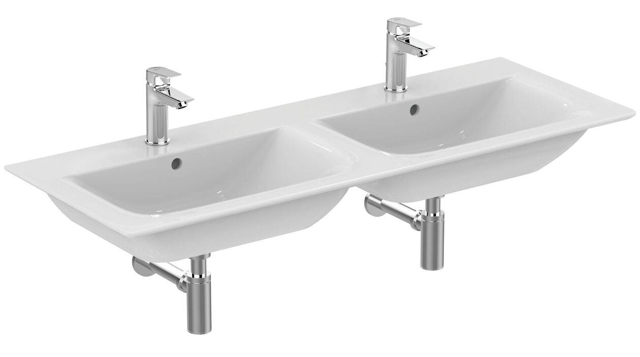 Double Lavabo Lavabo Double Ideal Standard Connect Air Double 1240 Mm