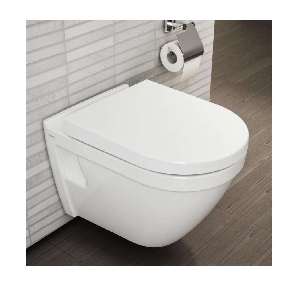 Wc Prullenbak Vitra Douche Wc S50 Zonder Rand Vitraflush 2 360x520mm Wit 7740b003 0850