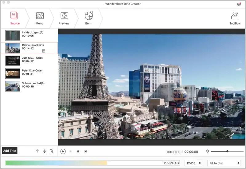 Top 10 DVD Menu Creator to Make a DVD Menu on Mac and Windows