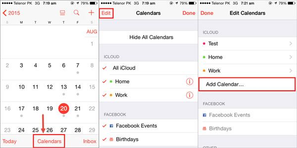 3 Ways to Share iPhone 6s/6/6 Plus/5s Calendar