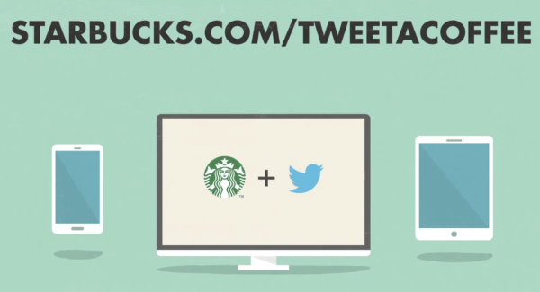 Tweet A Coffee par Starbucks et Twitter