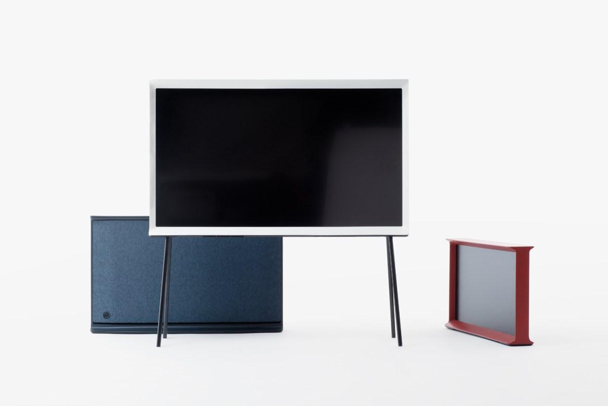 Objet connecté design : Serif TV par Samsung