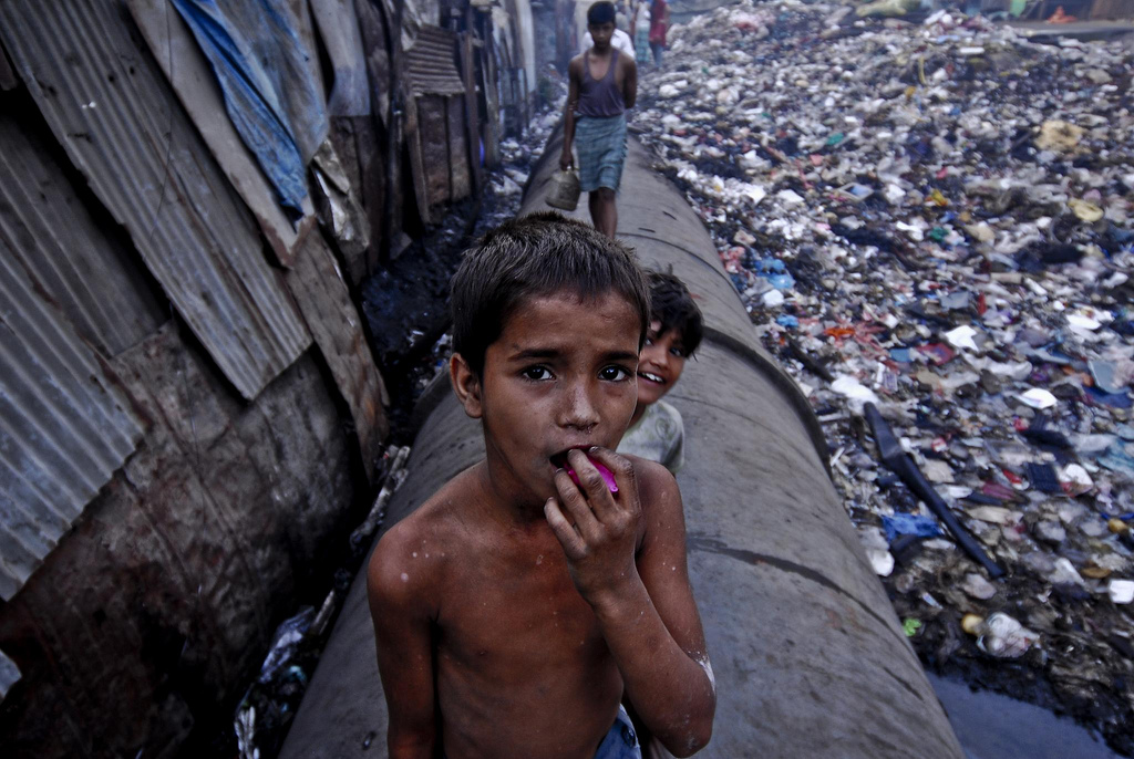Making Poverty History - history of poverty