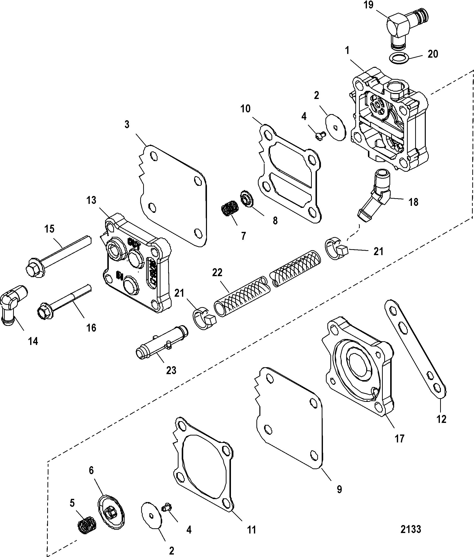 mercury 200 fuel pump diagram