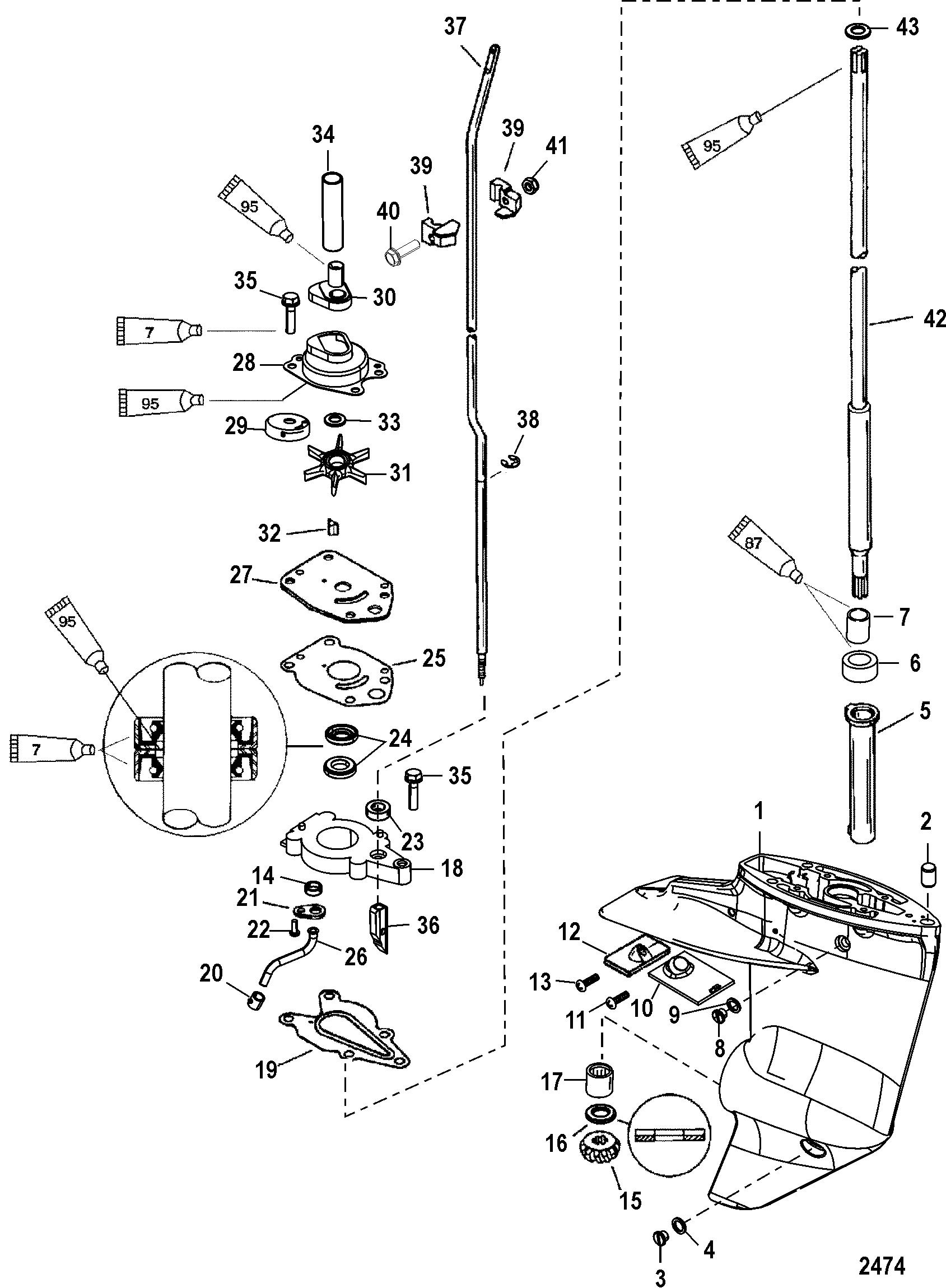 mercury engine schematics