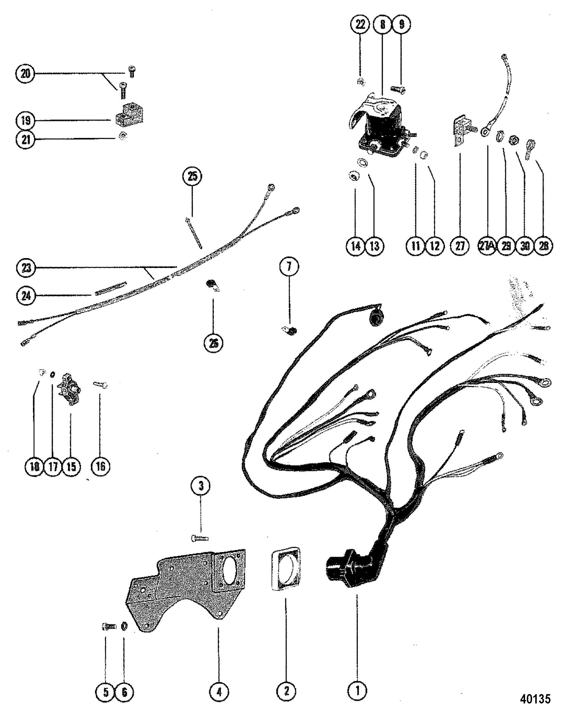 1981 mercruiser 260 wiring diagram