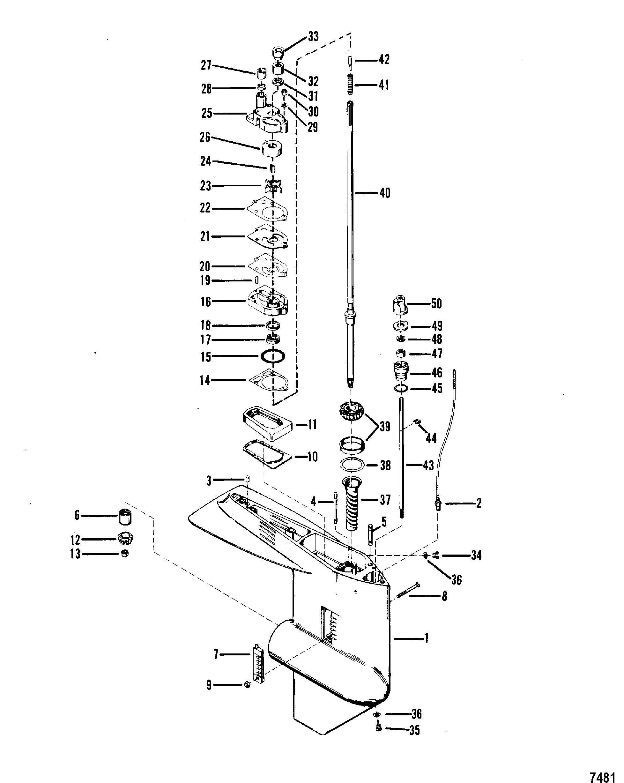 1989 mercury mariner wiring diagram