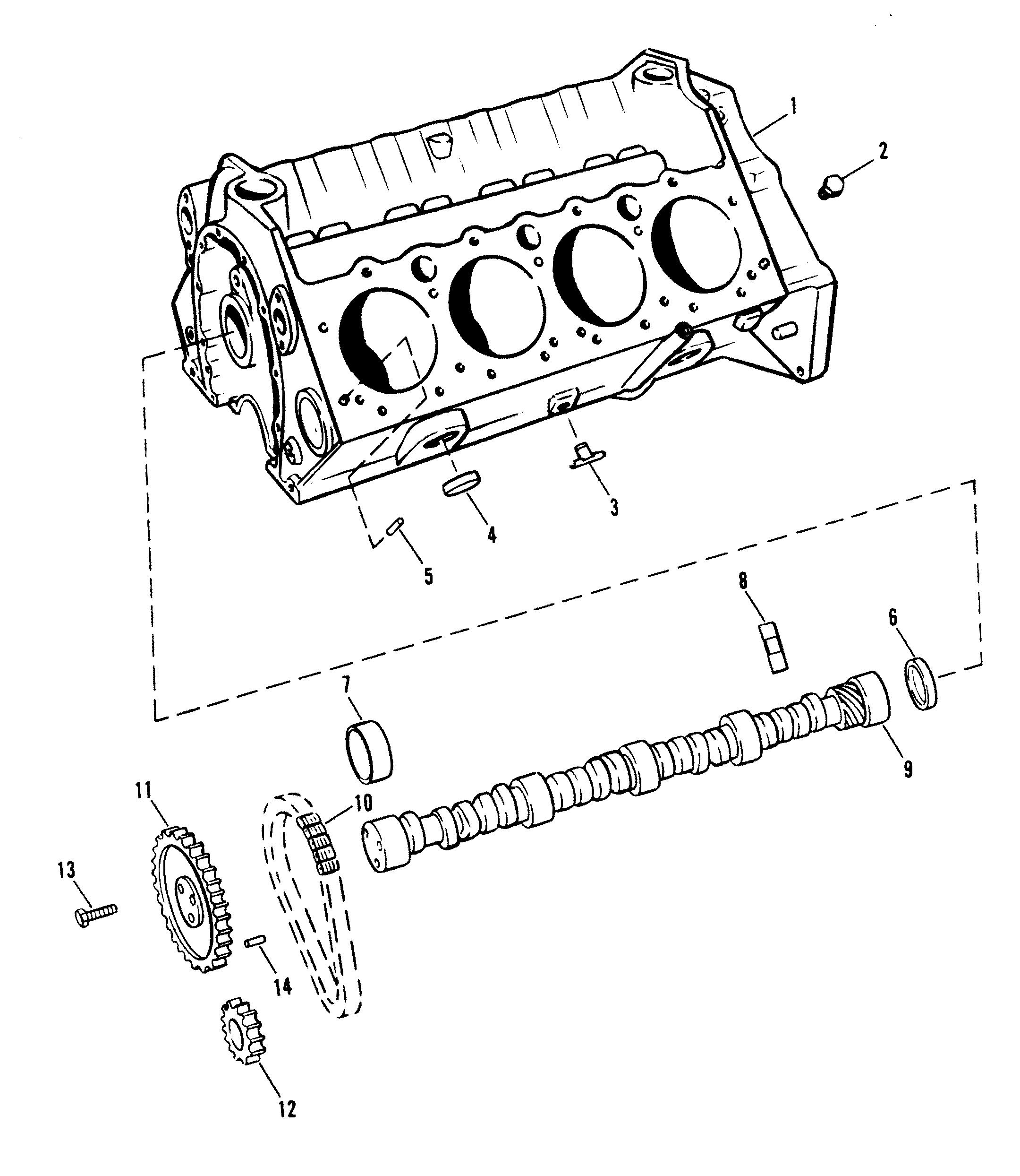 mercruiser engine block diagrams