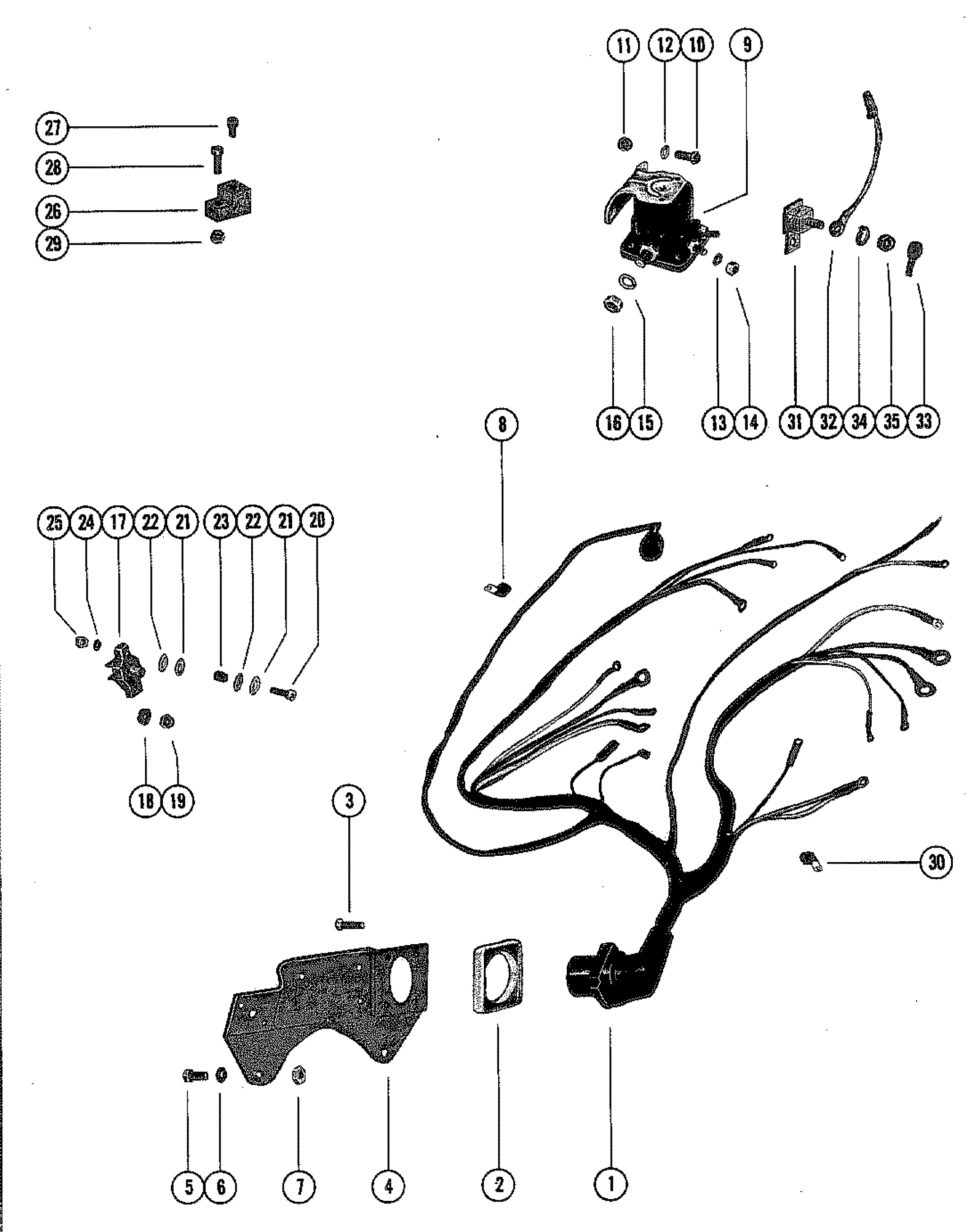 mercruiser inboard wiring diagram
