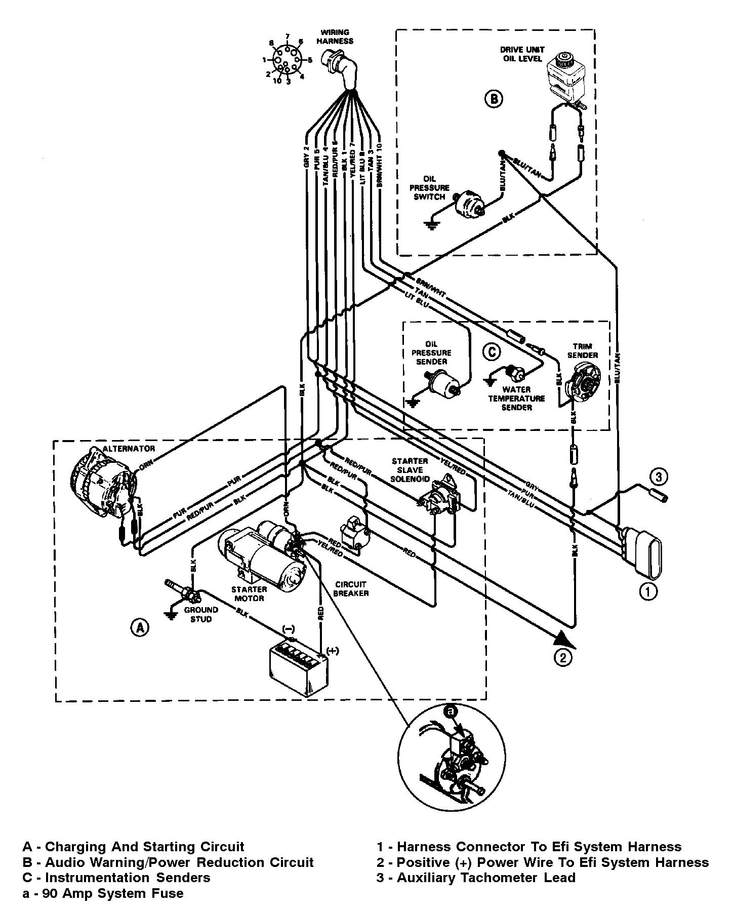 3 wire alternator wiring diagram 3 7 merc