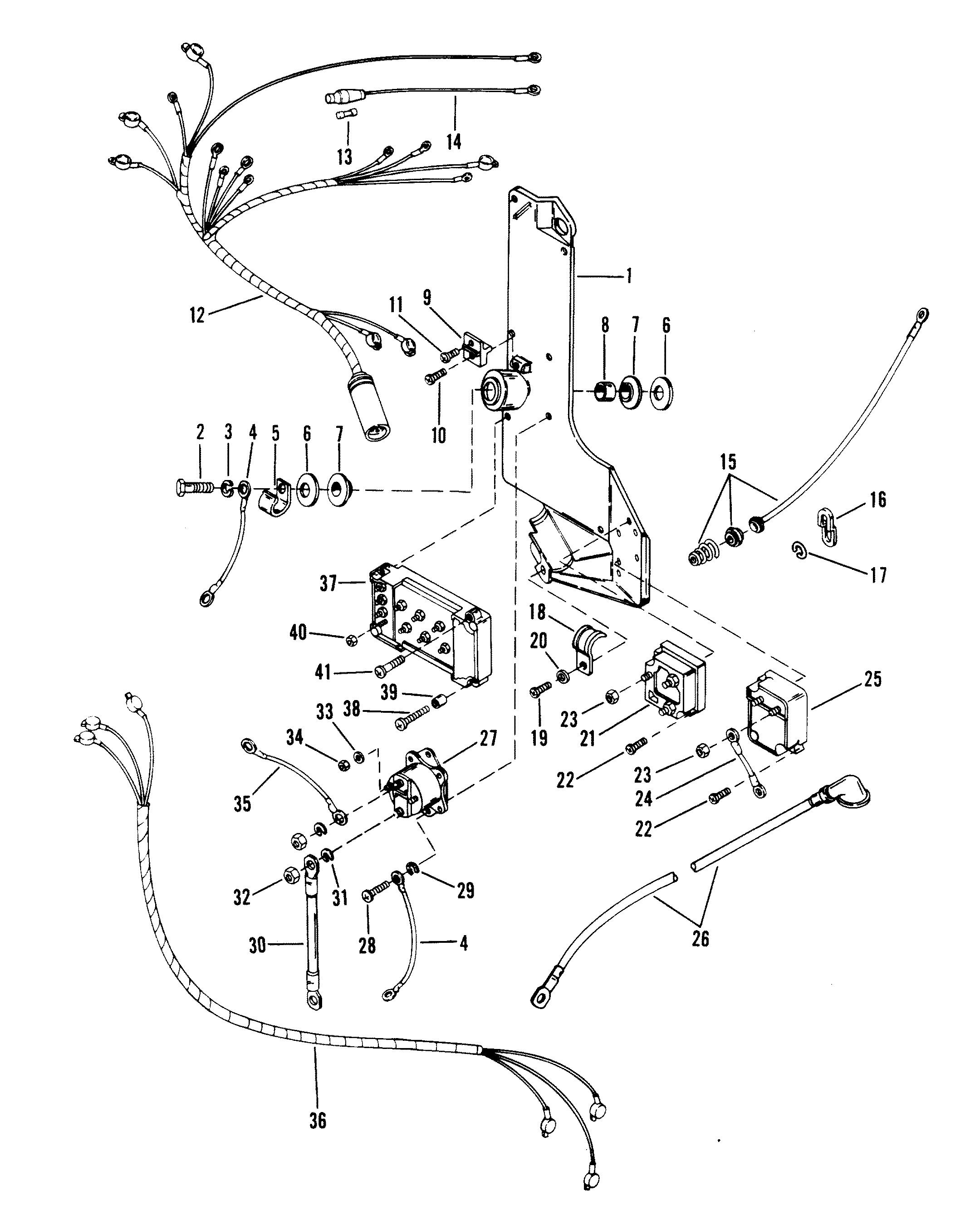 merc wiring harness