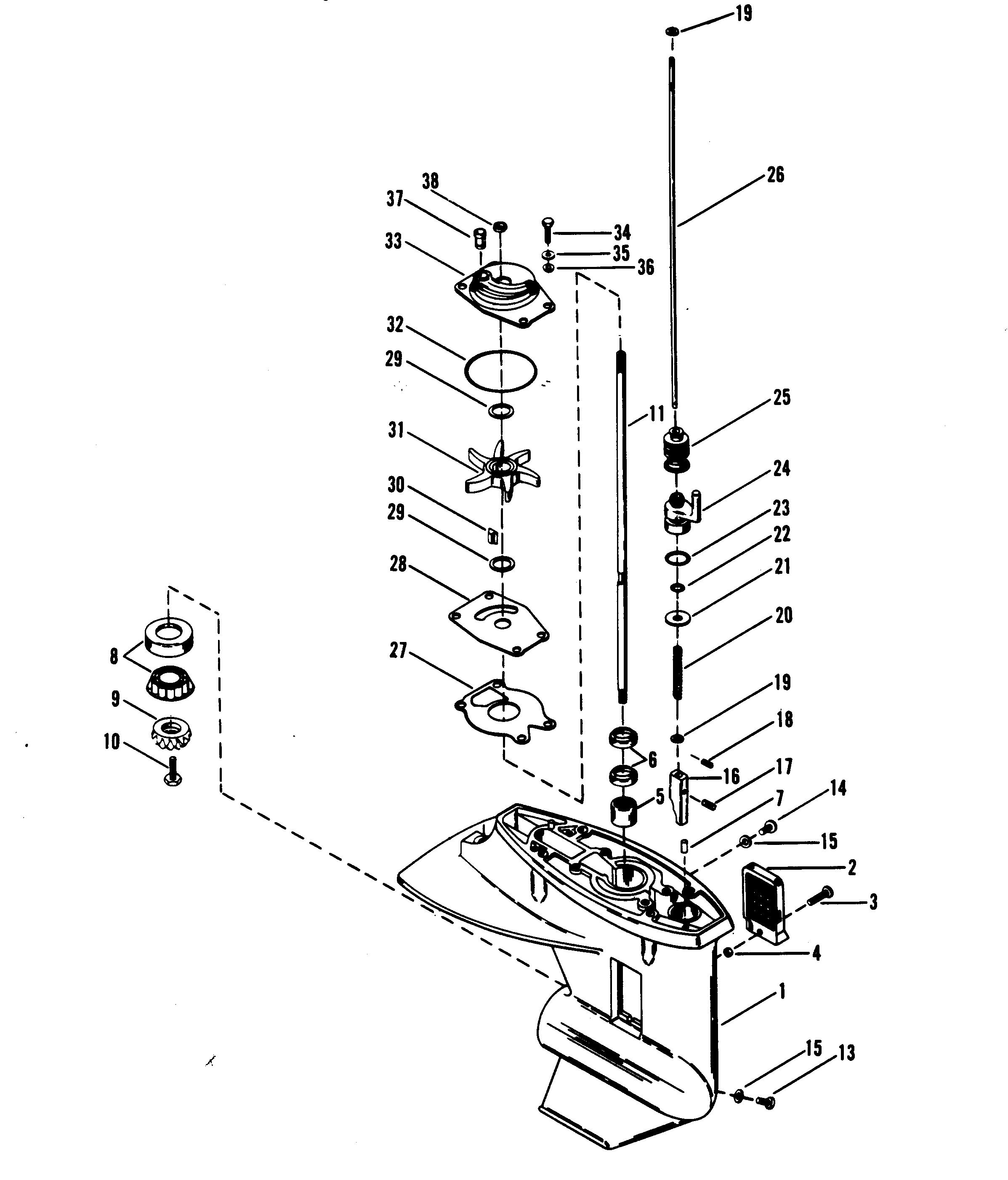 mariner 40 hp outboard schematics