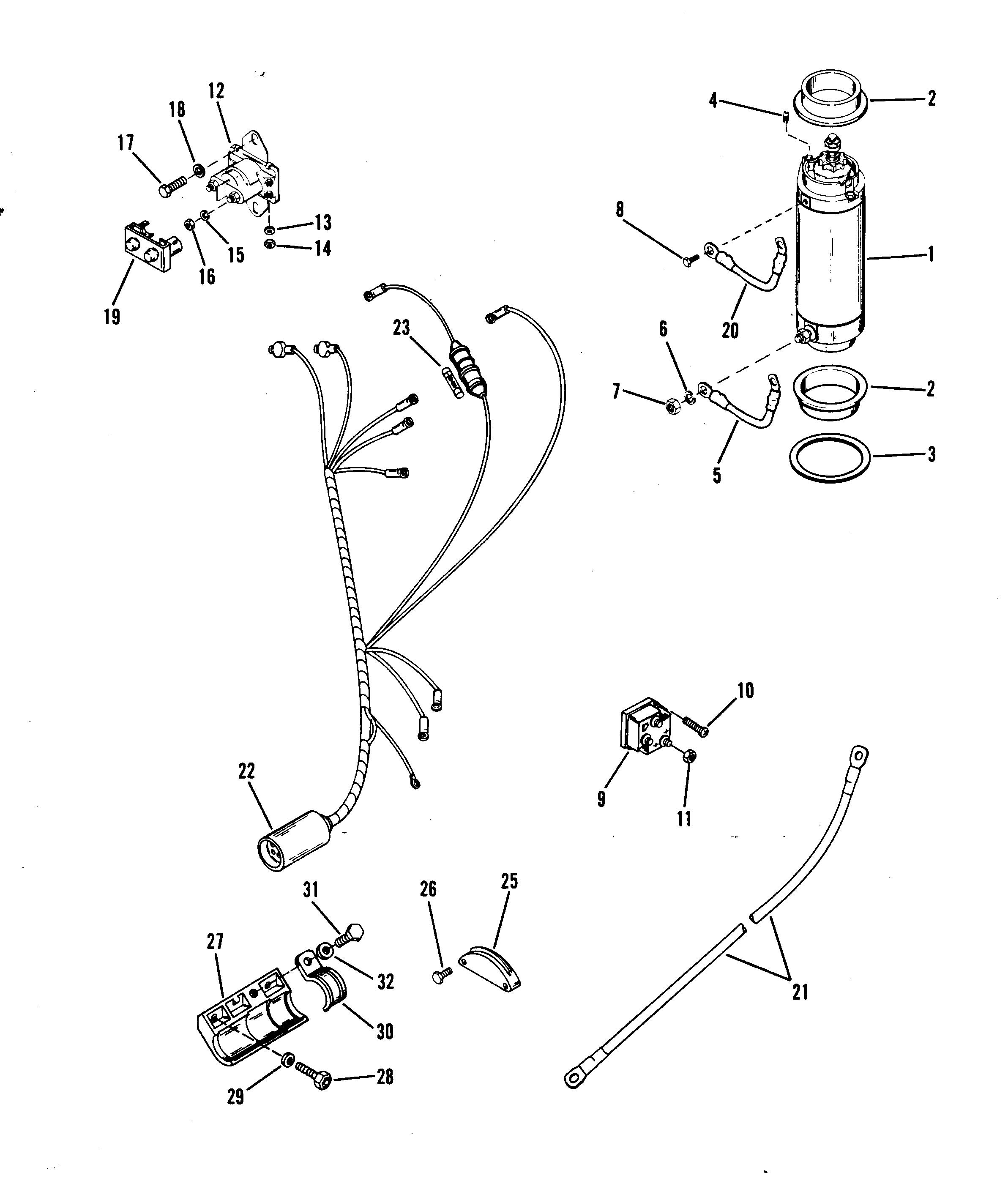1985 mariner 75 hp wiring diagram