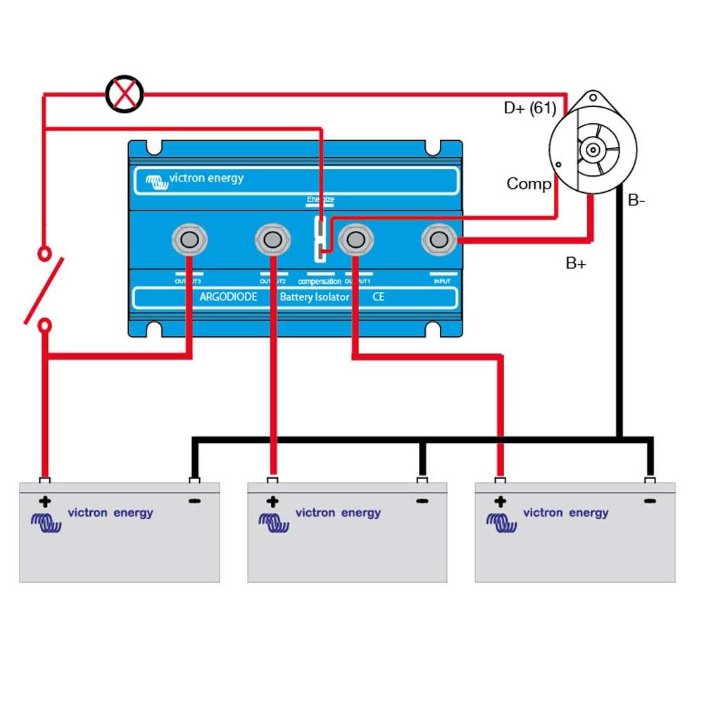 Ac Co Wiring Diagram Auto Electrical Suzuki Apv Fuse Box Marine Bonding Isolator Diode 44