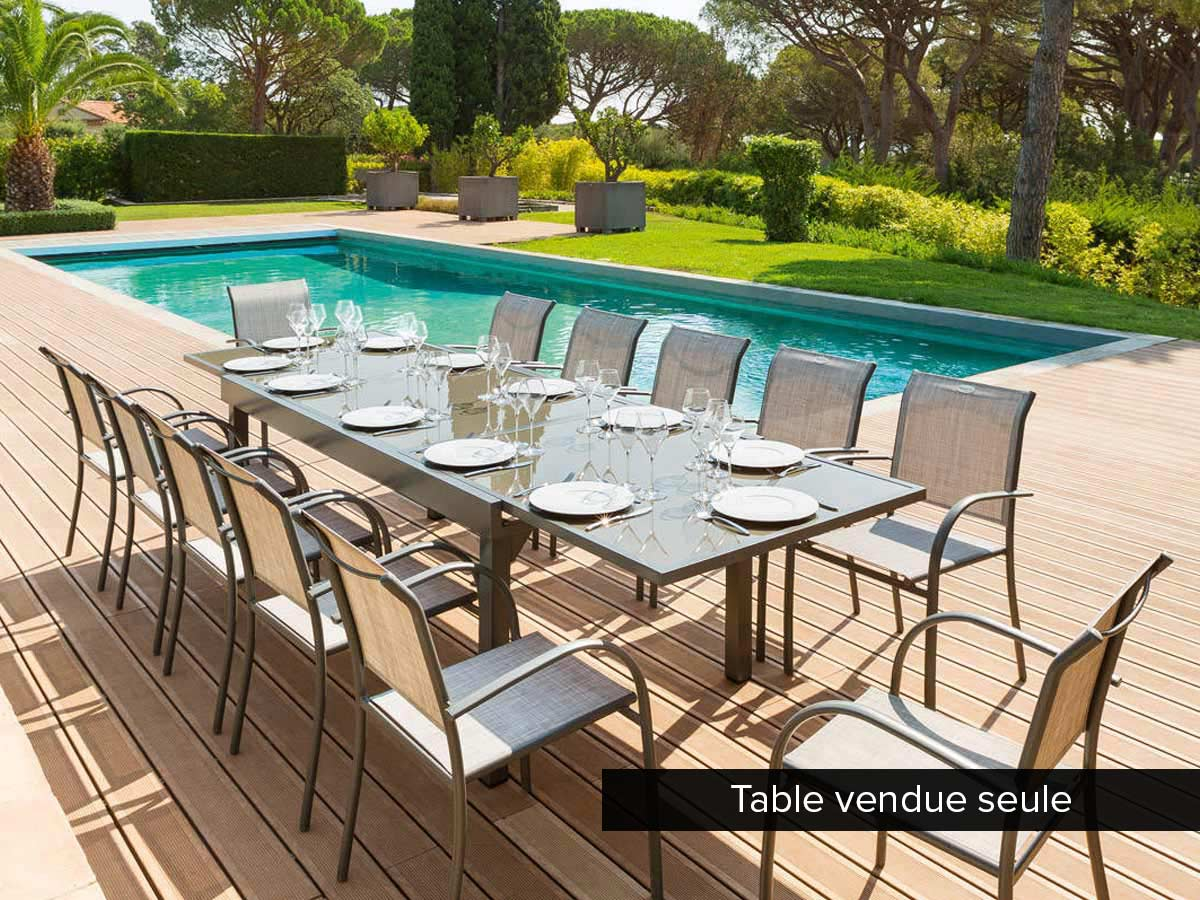 Table De Jardin Extensible 12 Places | Table De Jardin Plastique 12 ...