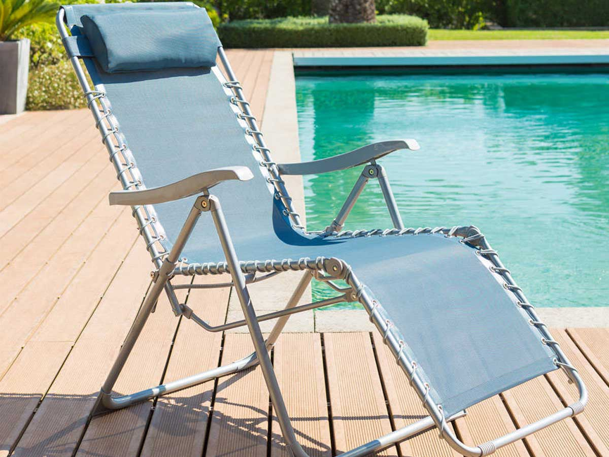 Chaise Relaxe Jardin Fauteuil Relax