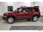 Cherry Red Jeep Patriot