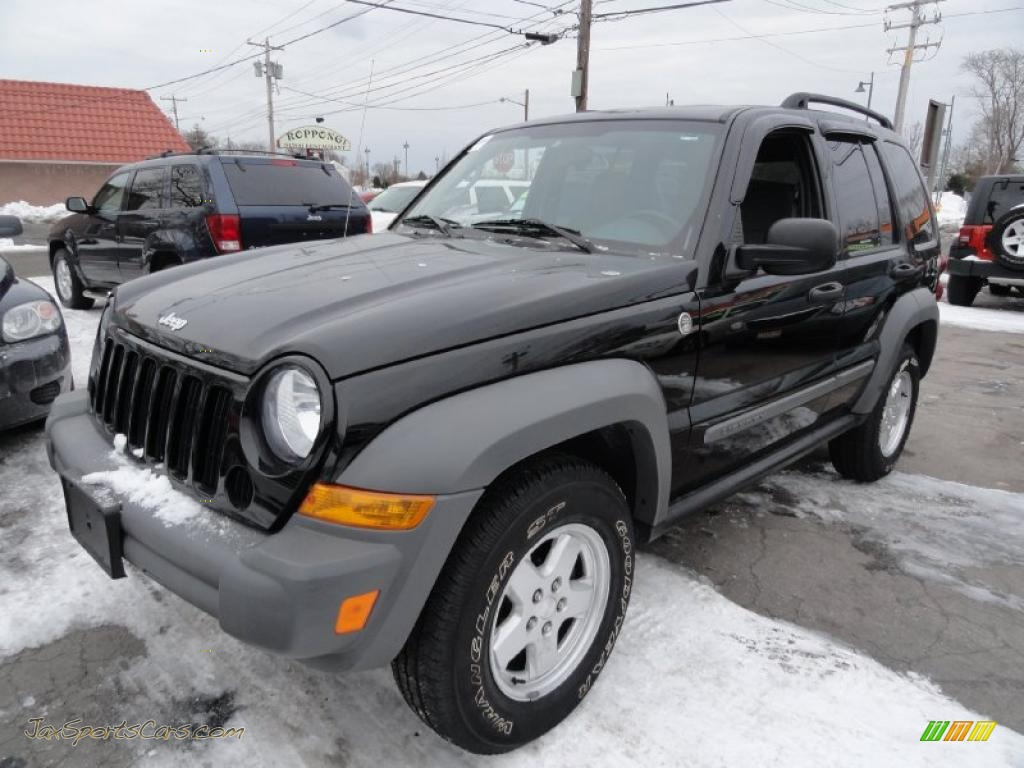 4x4 Sports Cars 2006 Jeep Liberty Sport 4x4 In Black 103083 Jax Sports