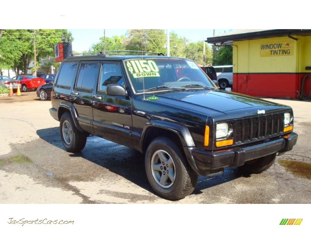 4x4 Sports Cars 1999 Jeep Cherokee Classic 4x4 In Black 628606 Jax