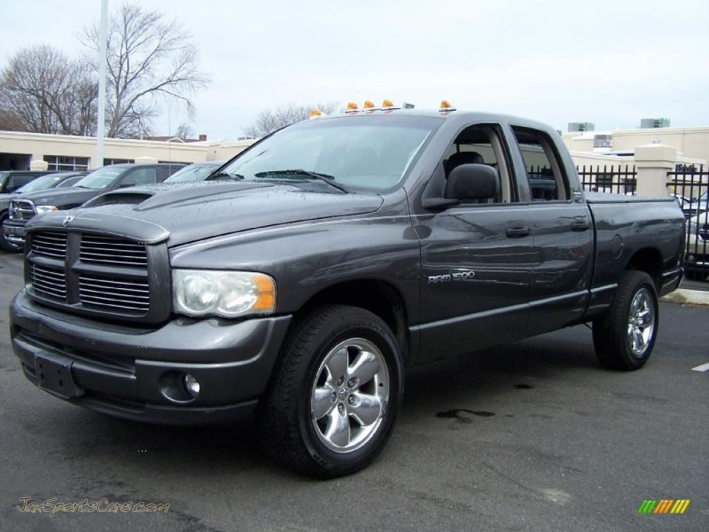 4x4 Sports Cars 2002 Dodge Ram 1500 Sport Quad Cab 4x4 In Graphite