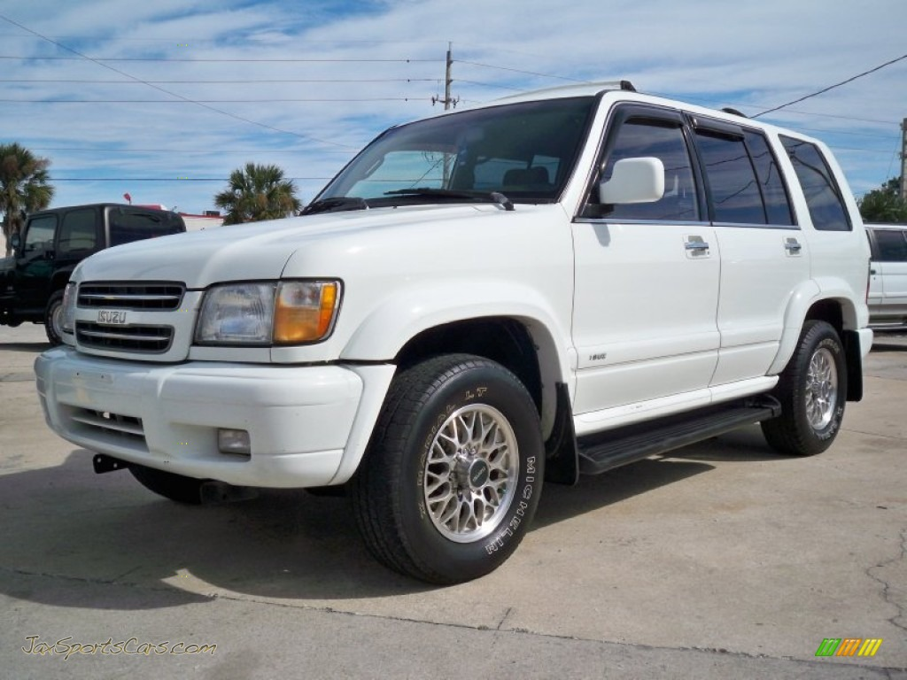4x4 Sports Cars 2000 Isuzu Trooper Limited 4x4 In Alpine White J15493