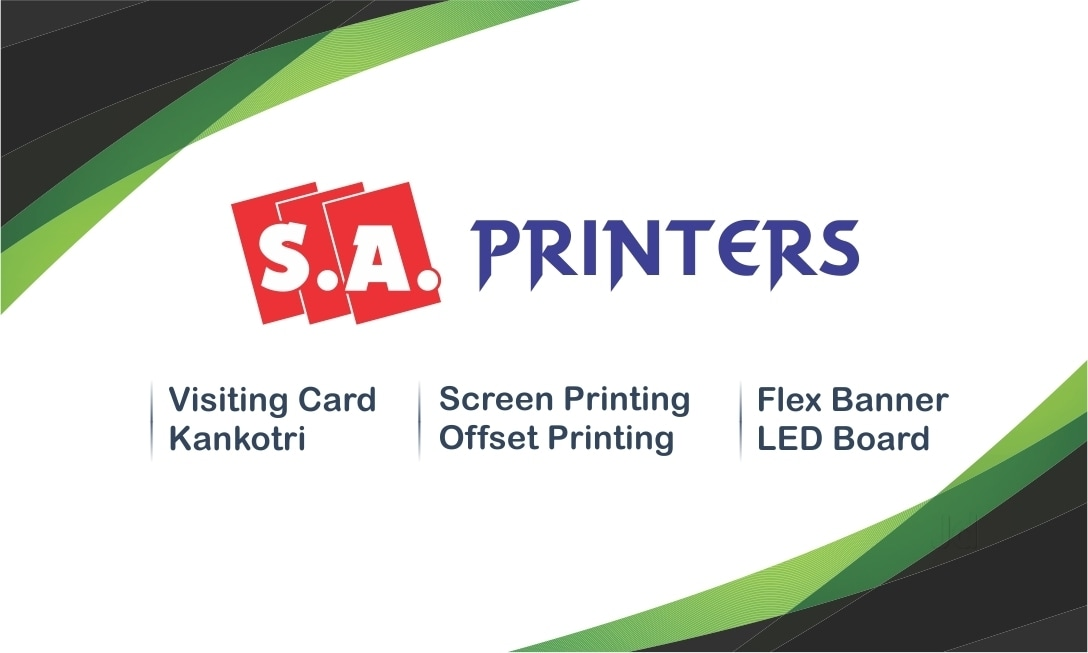Top 30 Visiting Card Makers in Gandhinagar-Gujarat - Best Visiting