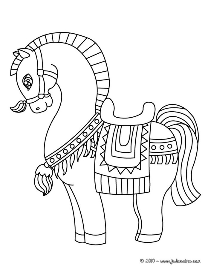 Coloriage Cheval Pur Sang.Coloriage Arabe Auto Electrical Wiring Diagram