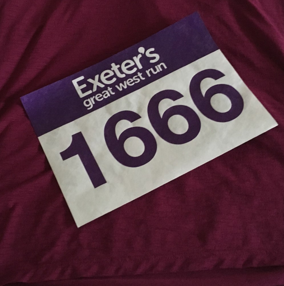 Couch To 5k Exeter Julia Tremlett Is Fundraising For The Eve Appeal