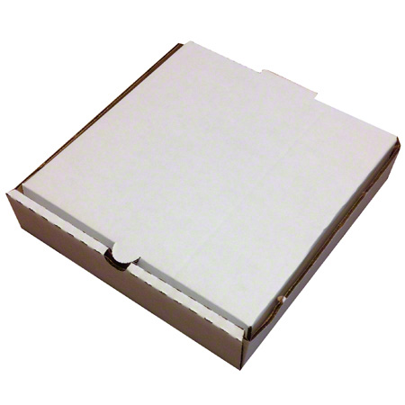 Inglese Pizza Box - 10 x 10 x 2, White Acorn Distributors