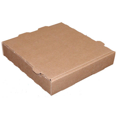 Kraft/Kraft Pizza Box - 10 x 10 x 150 Garrett Paper, Inc